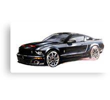 Knight Rider 2008 GT500KR Canvas Print