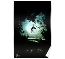 123 aereal body Poster