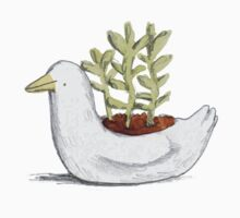 Succulent in Duck Planter Kids Clothes