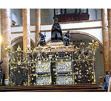 The Hofkirche (Imperial Church) Innsbruck, Tyrol -  cenotaph Photographic Print