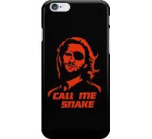 Call me Snake iPhone Case/Skin