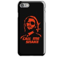Call me Snake iPhone Case/Skin