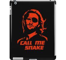 Call me Snake iPad Case/Skin