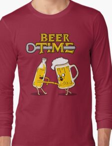 Beer Time Long Sleeve T-Shirt