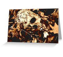 Cold Case Greeting Card