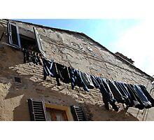 Italian Jeans Photographic Print