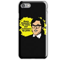 Henry Swanson's my name iPhone Case/Skin