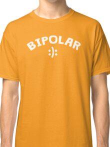 Bipolar with happy sad smiley Classic T-Shirt