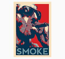 Smoke - Guy with cigar obama style poster graphic T-Shirt