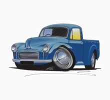 Morris Minor Pick Up Blue Kids Tee