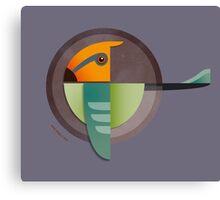Undiscovered Species - Alpha Green Canvas Print