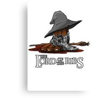 Lord of the Ribs - Gandalf Canvas Print
