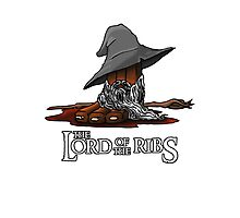 Lord of the Ribs - Gandalf Photographic Print