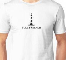 Folly Beach - South Carolina. Unisex T-Shirt
