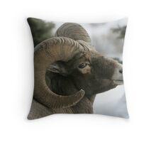 Ram's Pose Throw Pillow