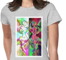 Ta Dance By Light An Night Womens Fitted T-Shirt