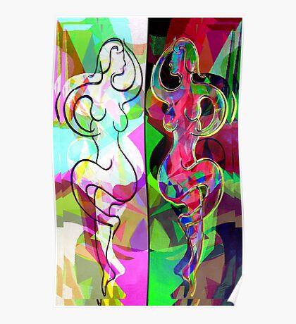 Ta Dance By Light An Night Poster