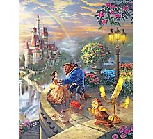 Beauty and the Beast - All Characters Cool Photographic Print