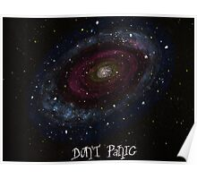 Life, the Universe and Everything, The Hitchhiker's Guide to the Galaxy, Don't Panic Designs Poster