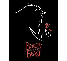 Beauty and the Beast - The Beast and the Rose Photographic Print