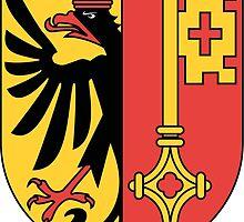 Coat of Arms of Geneva Canton by abbeyz71