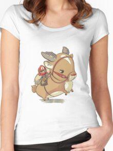 Mononoke Hime Women's Fitted Scoop T-Shirt