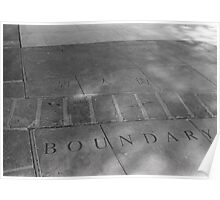 Boundary Poster