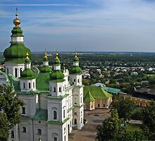 Trinity Cathedral -Chernigov, Ukraine  by LudaNayvelt