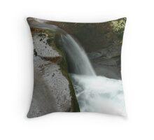Sweet Creek Falls 4 Throw Pillow