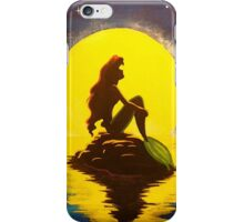The Little Mermaid Disney - Ariel and the Moon iPhone Case/Skin