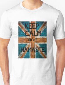 Keep Calm and Namaste Unisex T-Shirt