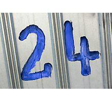 24 Photographic Print