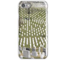 Washington military cemetery  iPhone Case/Skin