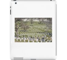 Washington military cemetery  iPad Case/Skin