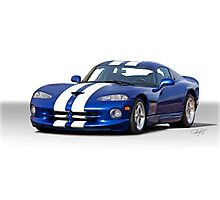 Dodge Viper GTS Photographic Print
