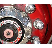 Fire Engine Art Photographic Print