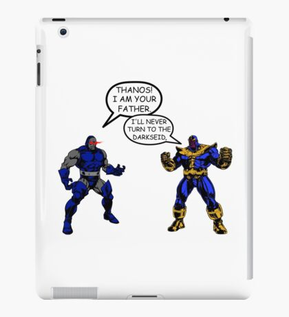Join the Darkseid Thanos! iPad Case/Skin