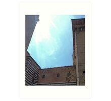 Siena Faux Art Print
