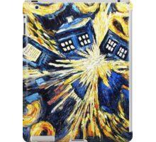 Doctor Who - Tardis Exploding by Van Gogh iPad Case/Skin