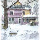 Victorian Snowstorm by Edward Fielding