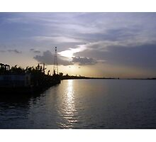 Sunset Ferry Ride Photographic Print
