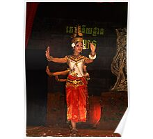 Cambodian Classical Dancers - Siem Reap Poster