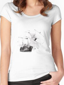 Göteborg Sailing Vessel Women's Fitted Scoop T-Shirt