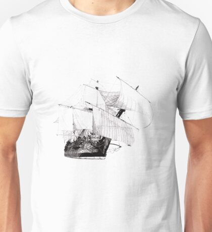 Göteborg Sailing Vessel Unisex T-Shirt
