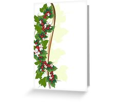 Ornament with berries Greeting Card