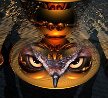 Spirit of the Golden Owl by WoodrowWilliams