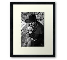 Terry in the Arbuckles Framed Print