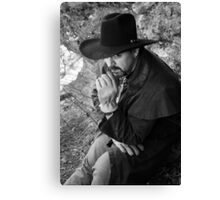 Terry in the Arbuckles Canvas Print