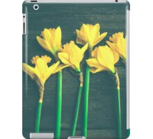 Happiness in Shades of Yellow iPad Case/Skin