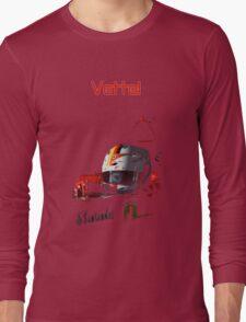 Sebastian Vettel; Ferrari 2015 Long Sleeve T-Shirt